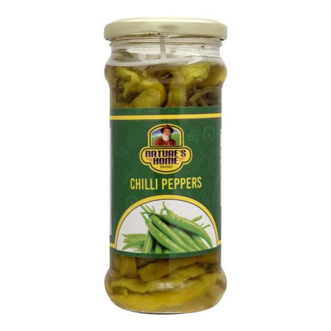 Nature's Home Chilli Peppers, 370g