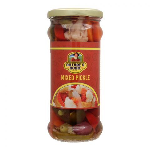 Nature's Home Mixed Pickle, 370g