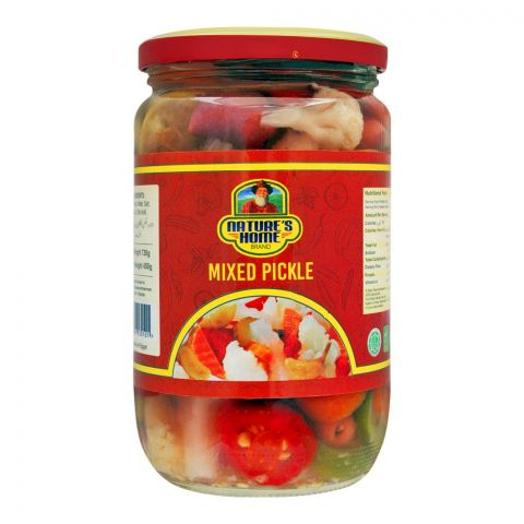 Nature's Home Mixed Pickle, 720g