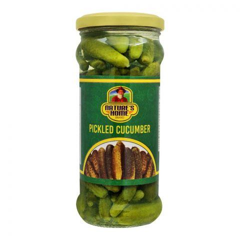 Nature's Home Pickled Cucunber, 370g