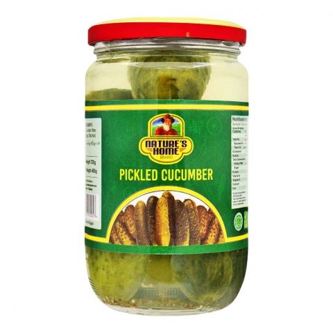 Nature's Home Pickled Cucumber, 720g