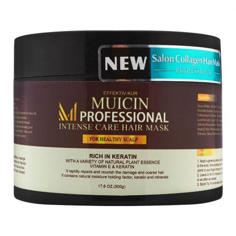 Muicin Professional Rich In Keratin Intense Care Hair Mask, 500g