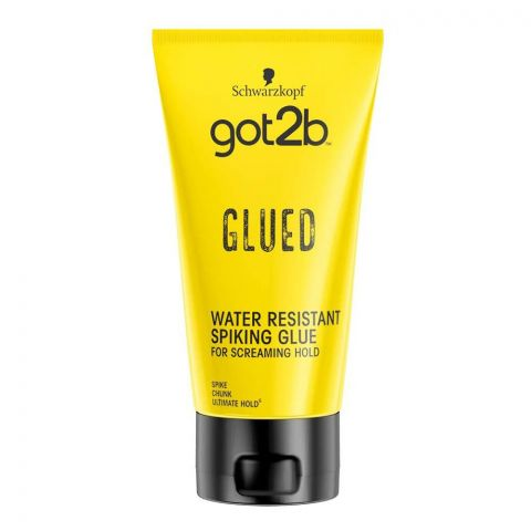 Schwarzkopf Got2b Glued Water-Resistant Spiking Glue, 150ml