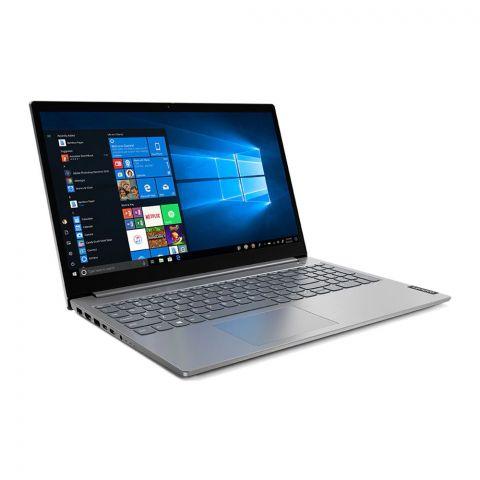 Lenovo ThinkBook 15-IIL Laptop, 10th Generation Core i3-10051, 4GB RAM, 1TB HDD, DOS, 15.6 Inches FHD TN Display, Mineral Grey