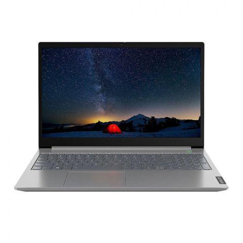 Lenovo ThinkBook 15-IIL Laptop, 10th Generation Core i3-10051, 8GB RAM, 1TB HDD, Windows 10, 15.6 Inches FHD TN Display, Mineral Grey