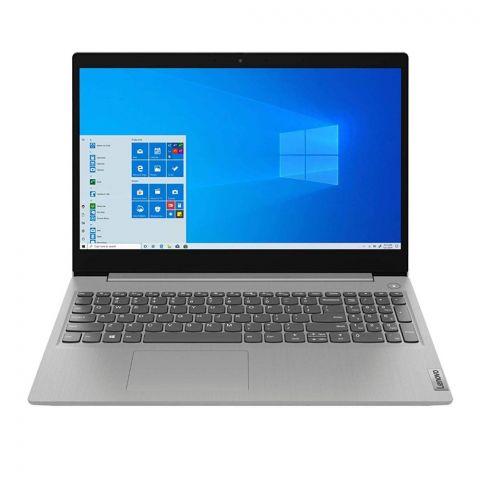 Lenovo IdeaPad 3 Laptop, 10th Generation Core i3-10051G1, 8GB RAM, 256GB SSD HDD, Windows 10 Home S, 15.6 Inches FHD IPS Display, Platinum Grey