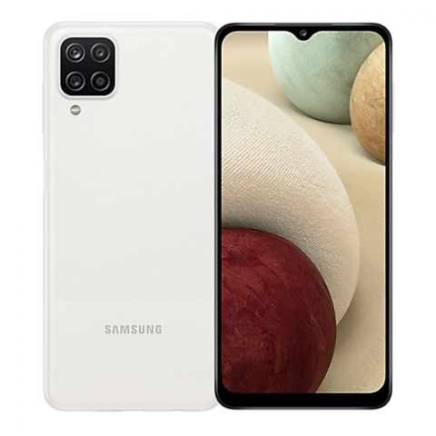 Samsung A12 4GB/128GB White Smartphone, A125F/DS