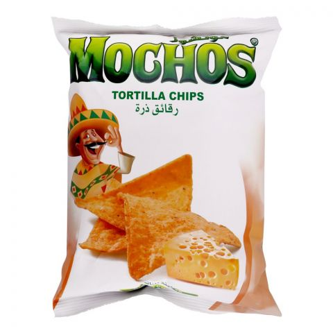 Mochos Nacho Cheese Tortilla Chips, 100g