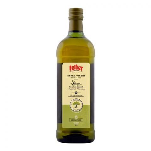 Felber Extra Virgin Olive Oil, Bottle, 1 Liter