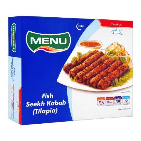 Menu Frozen Fish Seekh Kabab, 335g