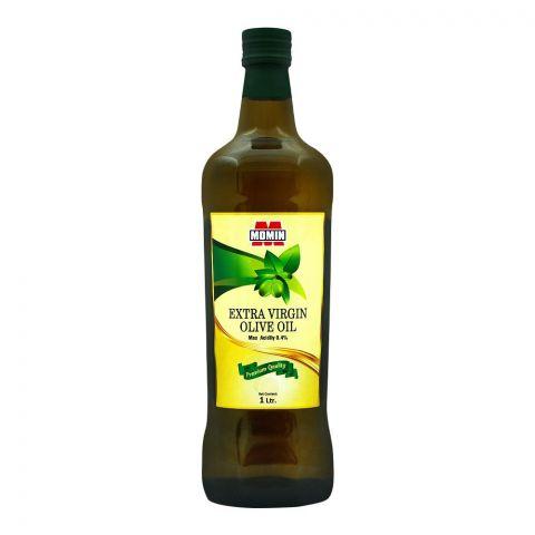 Momin Extra Virgin Olive Oil, Bottle, 1 Liter