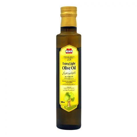 Momin Extra Light Olive Oil, Bottle, 500ml