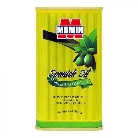 Momin Spanish Refined Olive Pomace Oil, Tin, 100ml