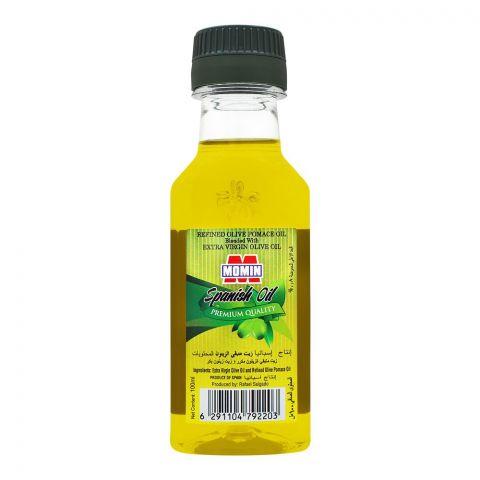 Momin Spanish Refined Olive Pomace Oil, Bottle, 100ml