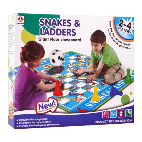 Live Long Snackers & Ladder Board Game, 2018-10