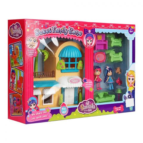 Live Long Sweet Family Home Villa Set, 60218AB