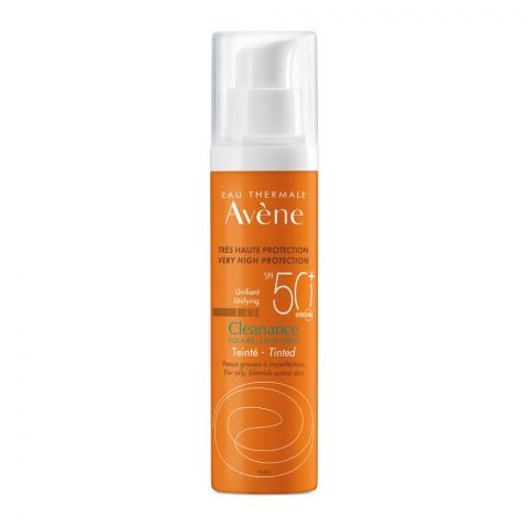 Avene Very High Protection SPF 50 Cleanance Sunscreen, For Oily & Blemish-Prone Skin, 50ml