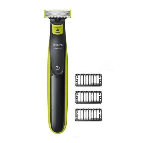 Philips Norelco OneBlade, 3 Stubble Combs Trimmer, QP2520/20