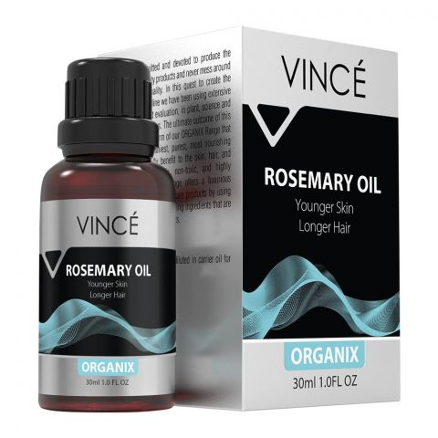 Vince Organix Lemon Oil, Younger Skin Longer Hair, 30ml