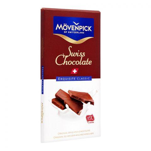 Movenpick Original Swiss Milk Chocolate, Exquisite Classic, 70g