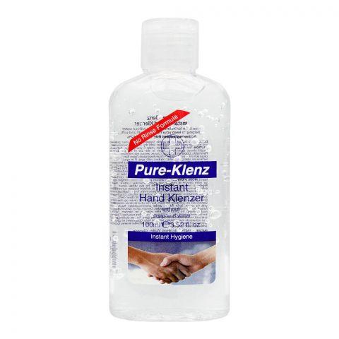 Pure-Klenz Instant Hygiene Hand Klenzer, 100ml