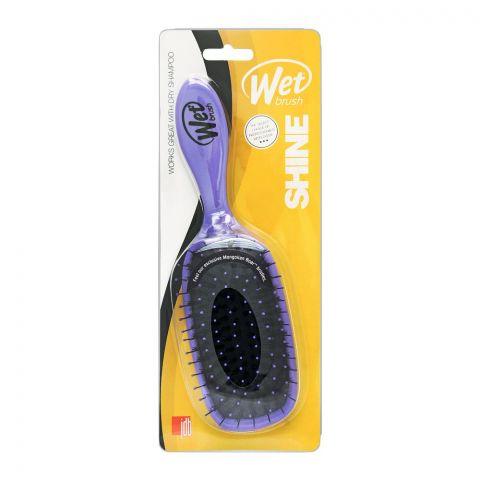 Wet Brush Shine Hair Brush, Purple, B833W-PR