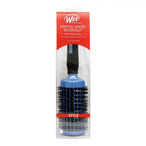 Wet Brush Pro Vented Speed Blowout Hair Brush, Large, 2.75 Inches Barrel, BWP834VSLG