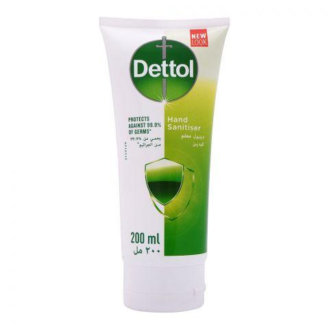 Dettol 99.9% Hand Sanitizer, Tube, 200ml