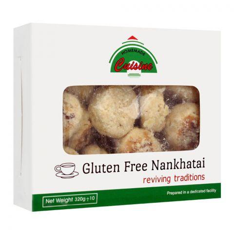 Home Made Cuisine Nankhatai, Gluten Free, 320g