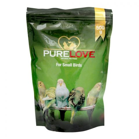 Pure Love Small Birds Food, Pouch, 500g