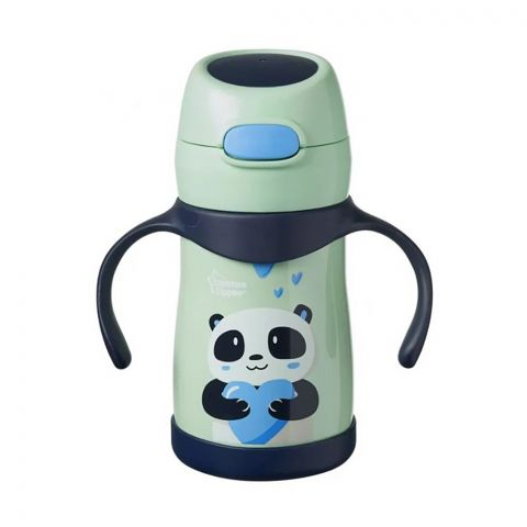 Tommee Tippee Weighted Straw Cup, Panda, 12m+, 280ml 448016