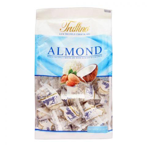 Truffino Almond White Truffle Chocolate With Almond & Coconut, 450g