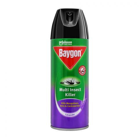 Baygon Multi Insect Killer Spray, Lavender, 300ml