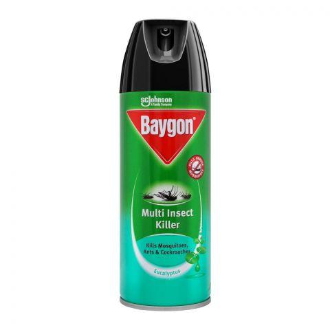 Baygon Multi Insect Killer Spray, Eucalyptus, 300ml