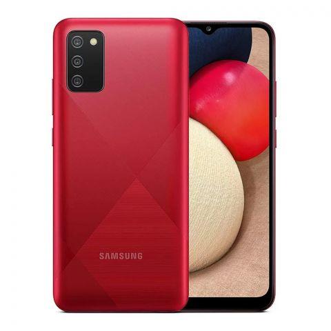Samsung Galaxy A02S 4GB/64GB Red Smartphone, SM-A025F