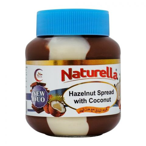 Naturella Hazelnut Spread With Coconut, 350g