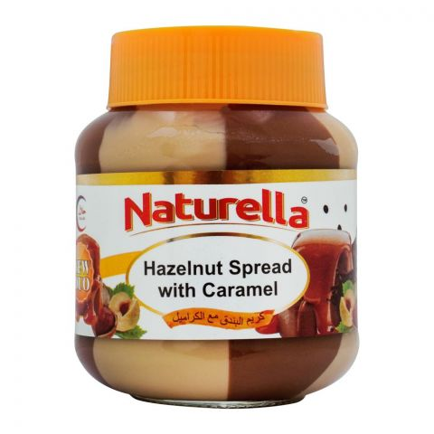 Naturella Hazelnut Spread With Caramel, 350g