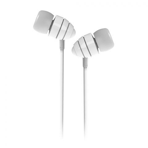 Joyroom Conch Wired Music Earphone, White, JR-EL112