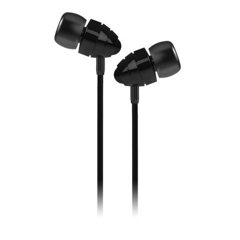 Joyroom Conch Wired Music Earphone, Black, JR-EL112