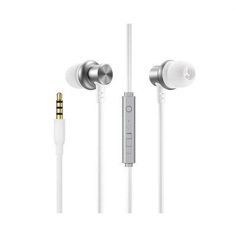 Joyroom In-Ear Wired Control Earphone, White, JR-EL115
