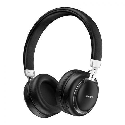 Joyroom Shocking Heavy Bass Wireless Headset, Black, JR-HL1
