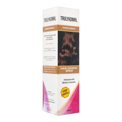 Truly Komal Hair Growth Spray Powder Serum, 120ml