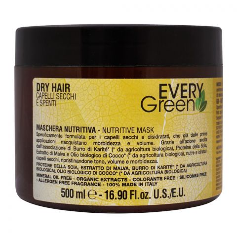 Every Green Dry Hair Nutritive Mask, 500ml