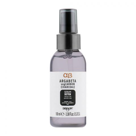 Dikson Argabeta VegCarbon Charcoal Detox Hair Serum, 100ml