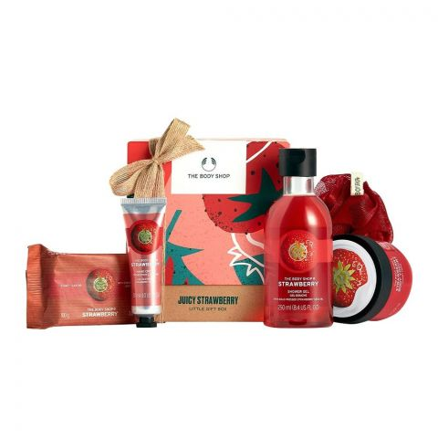The Body Shop Juicy Strawberry Little Gift Box, 97759