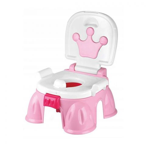 Huanger Toilet For Children With Music, Pink, 18m+, HE0809