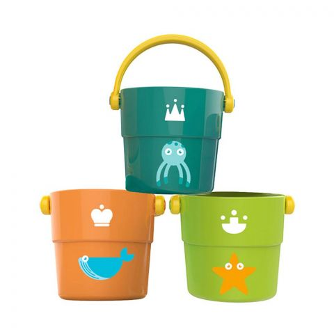 Huanger Stack Buckets, 3 Pieces, 12m+, HE0230