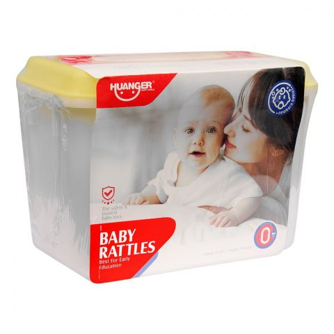 Huanger Baby Rattles Set, 4 Pieces, 0m+, HE0115