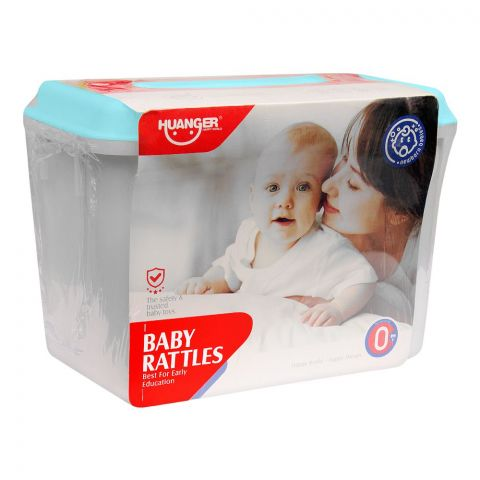 Huanger Baby Rattles, 8 Pieces, 0m+, HE0128