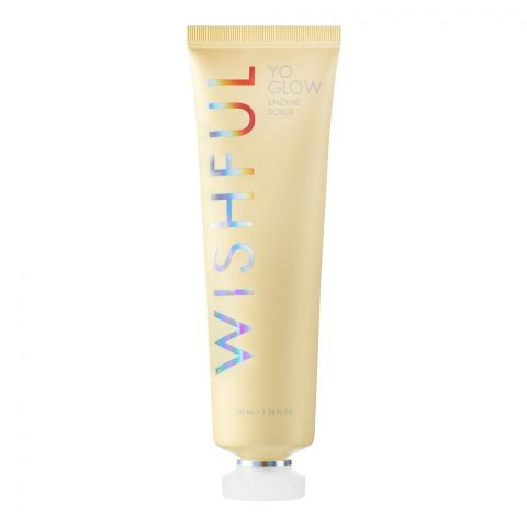 Huda Beauty Wishful Yo Glow Enzyme Scrub, 100ml